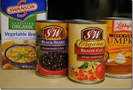 Pumpkin Black Bean Soup 004