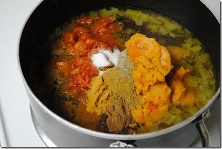 Pumpkin Black Bean Soup 007
