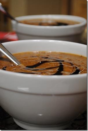Pumpkin Black Bean Soup 024
