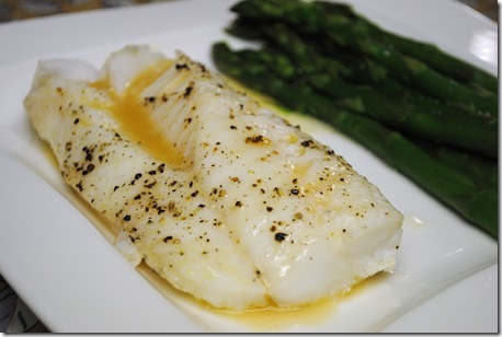Baked cod with white wine reduction leftovers for lunch for How to bake cod fish in the oven