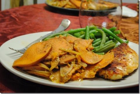 Chipotle Sweet Potato Gratin 007
