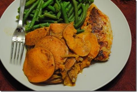 Chipotle Sweet Potato Gratin 016
